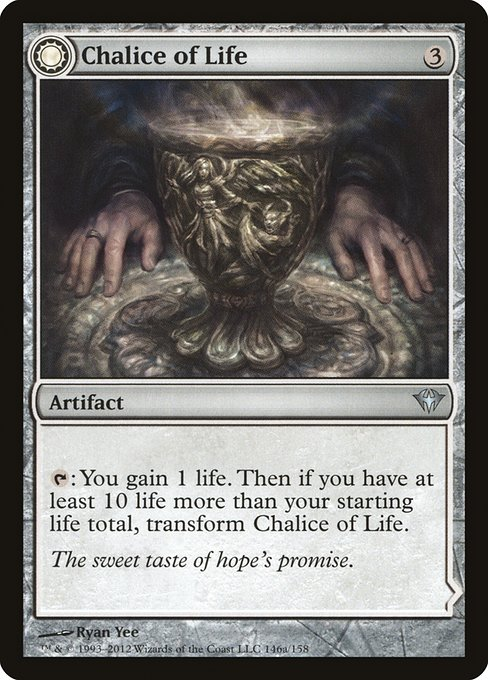 Chalice of Life // Chalice of Death (DKA)