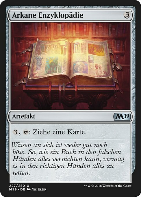 Arcane Encyclopedia (M19)