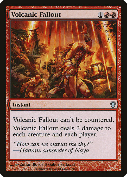 Volcanic Fallout (ARC)