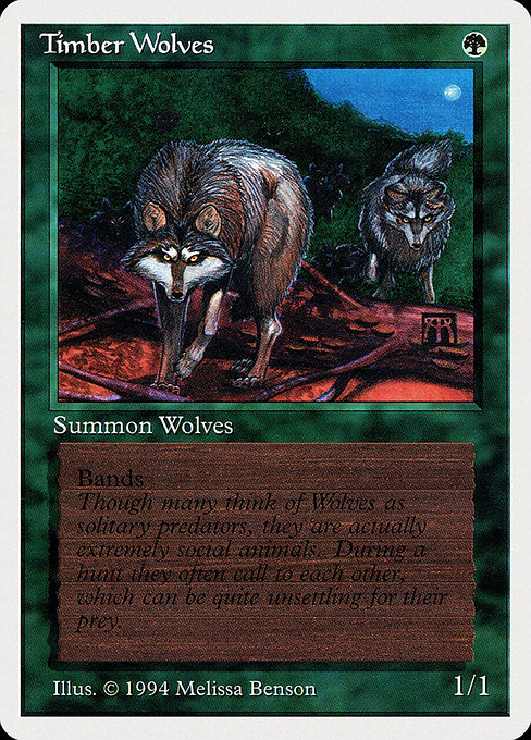 Timber Wolves (SUM)