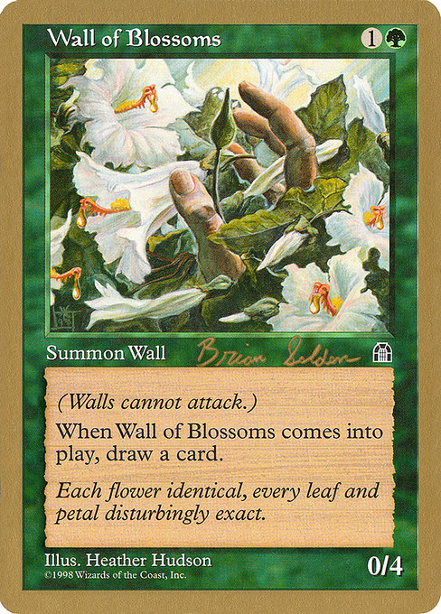 Wall of Blossoms (WC98)