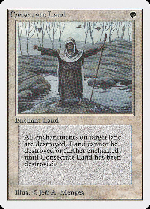 Consecrate Land (2ED)