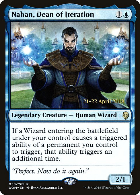 Naban, Dean of Iteration (PDOM)