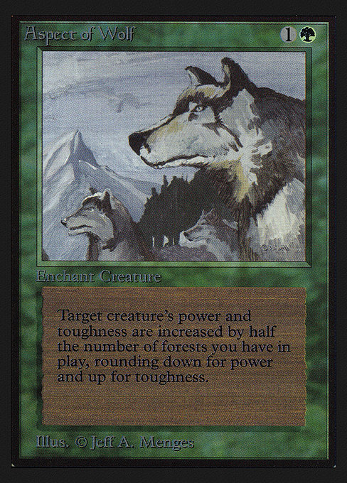 Aspect of Wolf (CED)