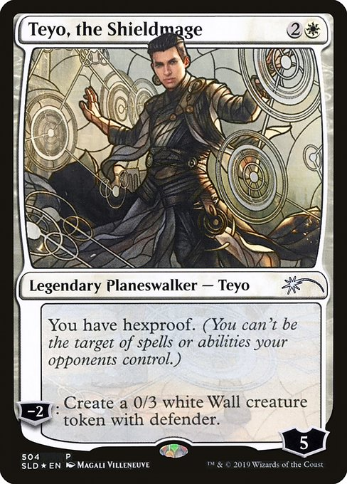 Teyo, the Shieldmage (SLD)