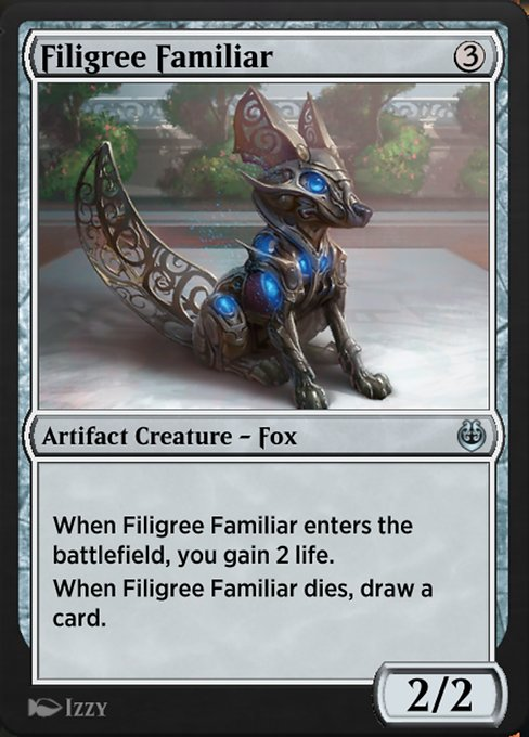 Filigree Familiar (KLR)
