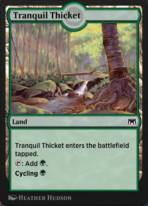 Tranquil Thicket (HA2)