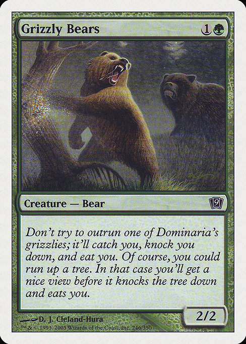 Grizzly Bears (9ED)