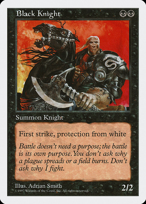 Black Knight (5ED)