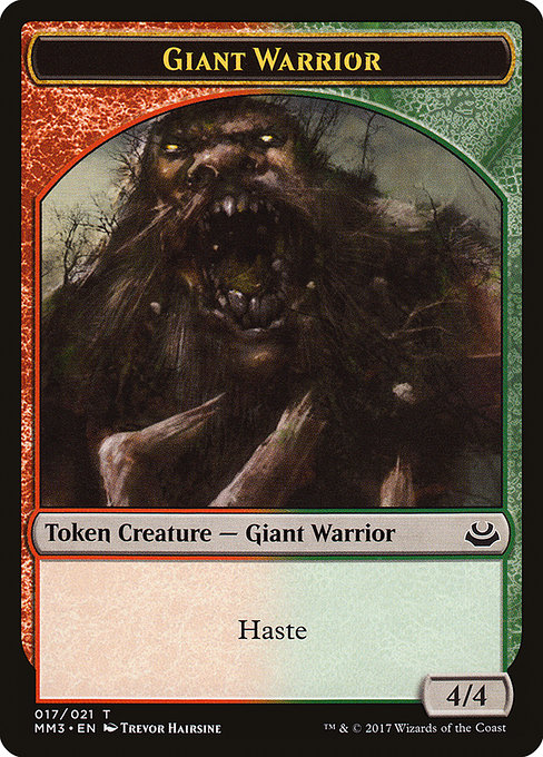 Giant Warrior (TMM3)