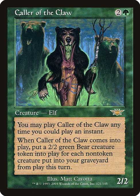Caller of the Claw (LGN)