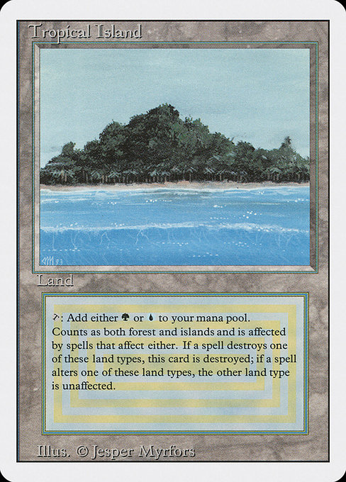 Tropical Island - Revised Edition