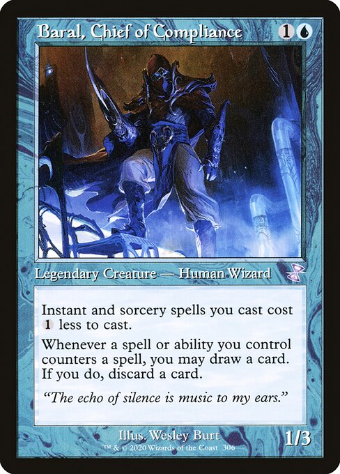 Baral, Chief of Compliance (TSR)