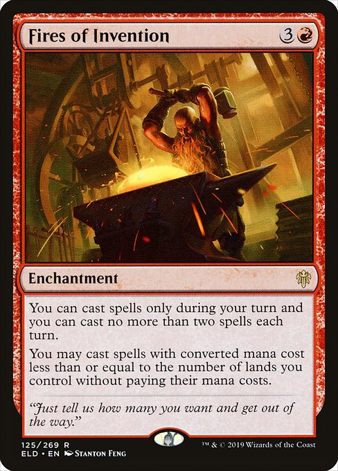 Fires of Invention (ELD)