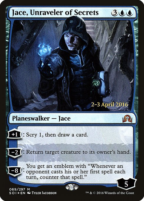Jace, Unraveler of Secrets (PSOI)