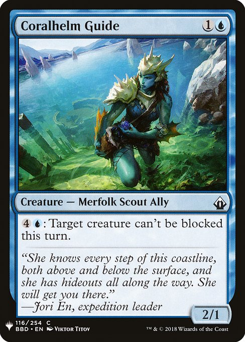 Coralhelm Guide (MB1)