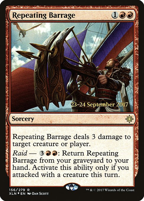 Repeating Barrage (PXLN)