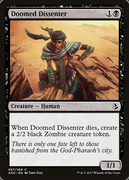 Doomed Dissenter (AKH)