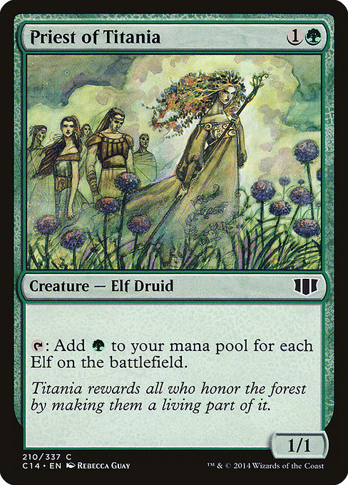 Priest of Titania (C14)