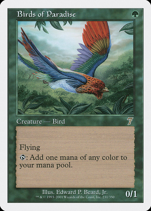 Birds of Paradise (7ED)