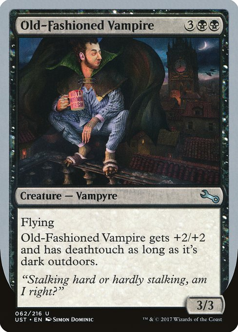 Old-Fashioned Vampire (UST)