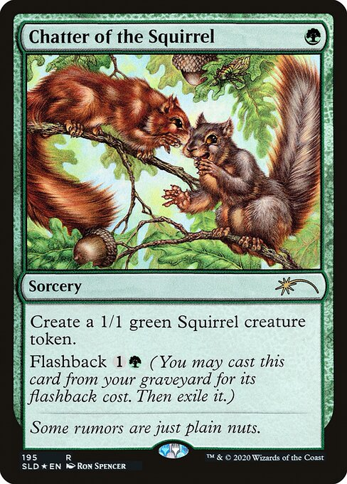 Chatter of the Squirrel (SLD)