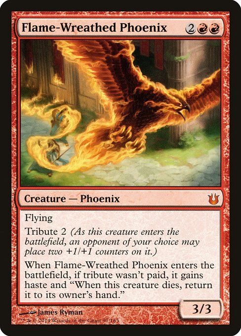 Flame-Wreathed Phoenix (BNG)