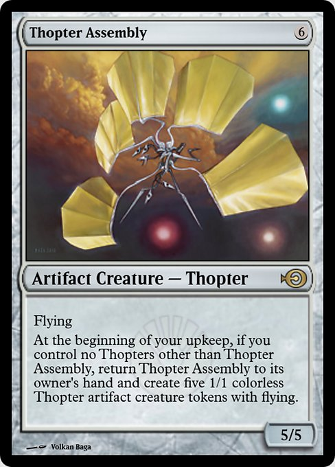 Thopter Assembly (PRM)