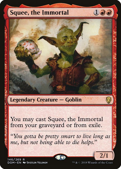Squee, the Immortal (DOM)