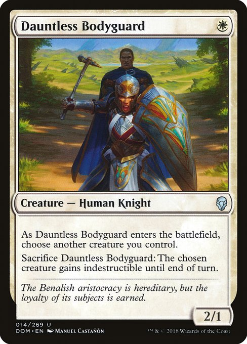 Dauntless Bodyguard (DOM)