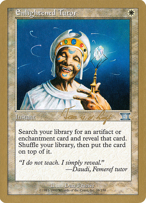 Enlightened Tutor (WC00)