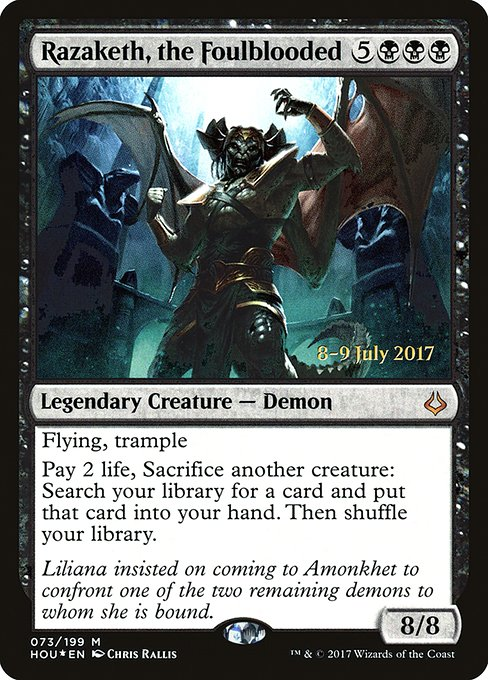 Razaketh, the Foulblooded (PHOU)