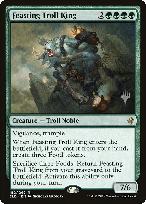 Feasting Troll King (PELD)