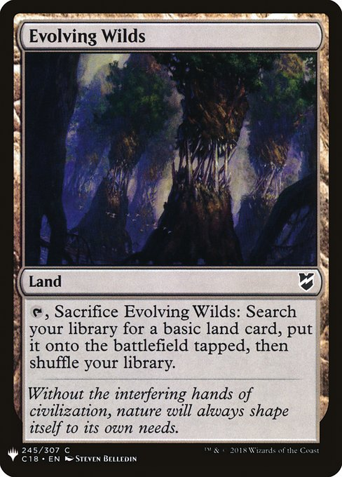 Evolving Wilds (MB1)