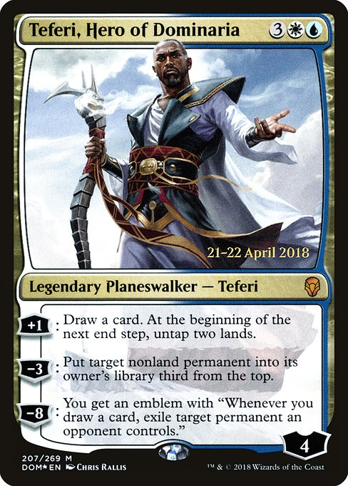 Teferi, Hero of Dominaria (PDOM)