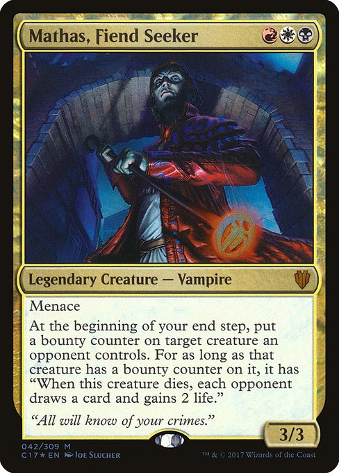 Mathas, Fiend Seeker (C17)