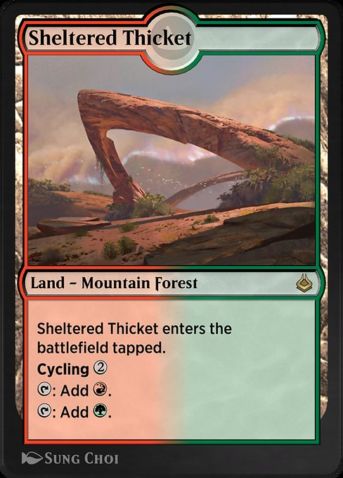 Sheltered Thicket (AKR)