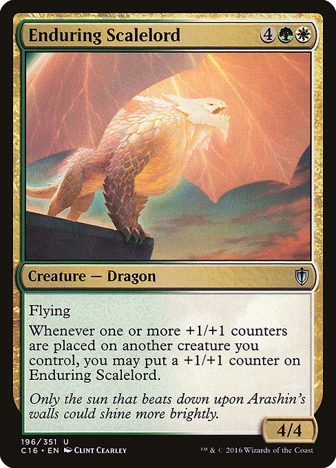 Enduring Scalelord (C16)