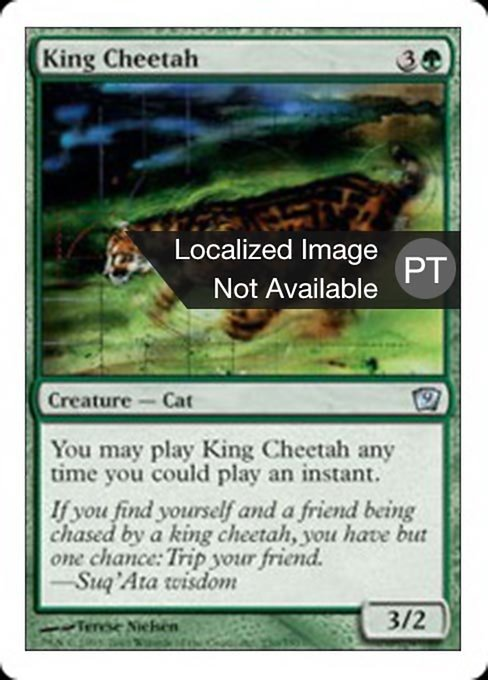 King Cheetah (9ED)