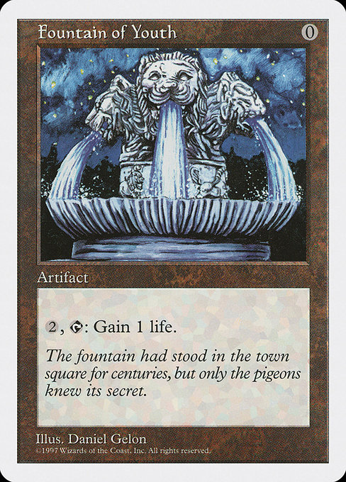 Fountain of Youth (5ED)
