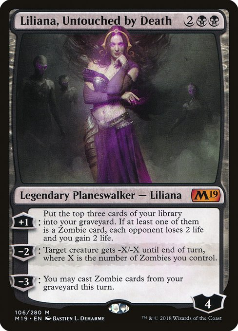 Liliana, Untouched by Death (M19)