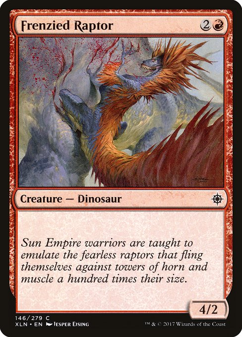 Frenzied Raptor (XLN)