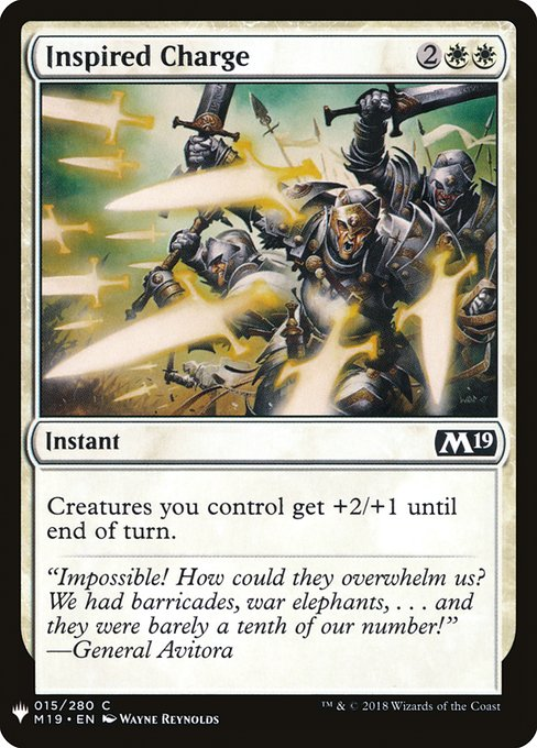 Inspired Charge (MB1)