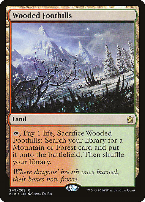 Wooded Foothills (KTK)