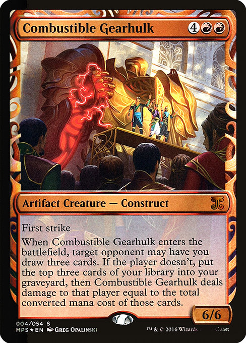 Combustible Gearhulk (MPS)