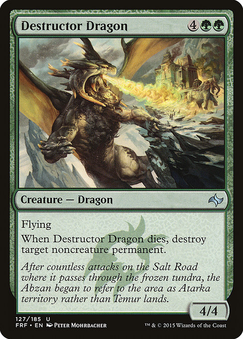 Destructor Dragon (FRF)