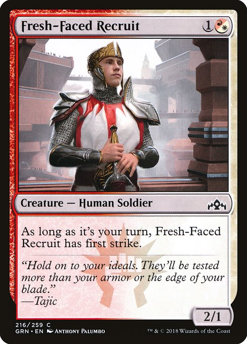 Fresh-Faced Recruit (GRN)