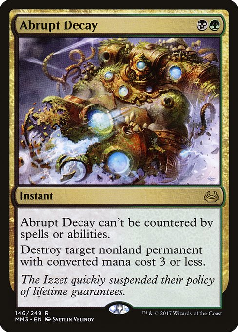 Abrupt Decay (MM3)