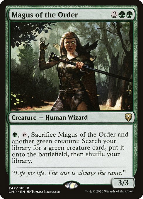 Magus of the Order (CMR)