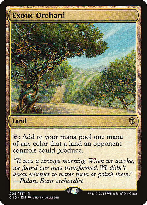 Exotic Orchard (C16)